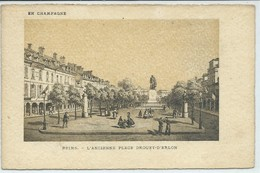 Reims-En Champagne-L'Ancienne Place Drouet-d'Erlon (CPA) - Reims
