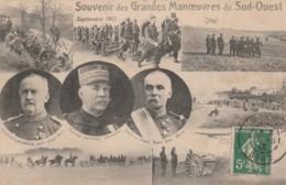 C11- SOUVENIR DES GRANDES MANOEUVRES DU SUD OUEST -  SEPTEMBRE 1913 - Manovre