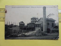 St Foy Argentiere Mines De Charbon Nouveau Puits - Industrie