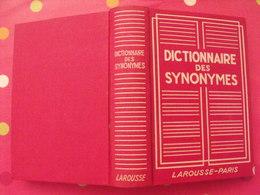 Dictionnaire Des Des Synonymes. Larousse 1947 - Dictionnaires