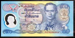 Thailand Banknote 50 Baht 1996 Golden Jubilee HM Accession To Throne Polymer P#99 SIGN#66 - Thailand