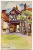 ARTIST : I. LOVERING - GATEWAY OF ST JOHN'S HOPSITAL, CANTERBURY - Illustrators & Photographers