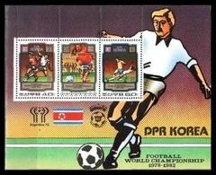 1980Korea, North2035-36/B791982 World Championship On Football Of Spain8,50 € - 1982 – Espagne