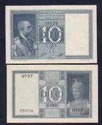 10 LIRE IMPERO 1944 FDS LOTTO 2607 - [ 1] …-1946 : Kingdom