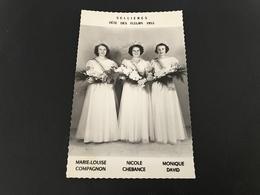 SELLIERES Fete Des Fleurs 1953 (Miss) - France