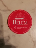 LE BELEM  Autocollant Du Voilier Le Belem (publicité Caisse D'épargne)+-5cm - Stickers