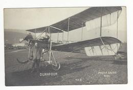 SUISSE AVIATION FRANCOIS DURAFOUR MEETING NEUCHATEL AVENCHES 12 NOVEMBRE 1911 CARTE PHOTO/ FREE SHIP. R - NE Neuenburg