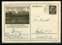 Deutsches Reich / 1936 / Bildpostkarte > BAD SEGEBERG, Kurhaus, Steg-Stempel Luebeck-Travemuende F18280) - Deutschland