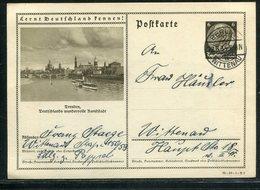 Deutsches Reich / 1935 / Bildpostkarte > DRESDEN, Steg-Stempel Berlin-Wittenau (18281) - Deutschland