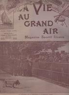 LA VIE AU GRAND AIR 02 06 1901 ARCUEIL ECOLE ALBERT LE GRAND - COTE D'IVOIRE - CARICATURE EDMOND JACQUELIN - EXPO CANINE - Libri, Riviste, Fumetti