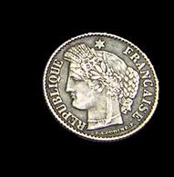 20 Centimes - Cérès - France - 1851 A - Paris  - Argent  - TTB - - France
