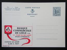 ENTIER CP PUBLIBEL 1667. BCL. BANQUE COMMERCIALE DE LIEGE .  .  NEUF - Publibels