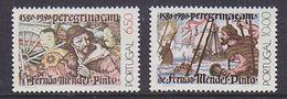 Portugal 1980 Mendes Pinto  2v ** Mnh (43227) - Ungebraucht