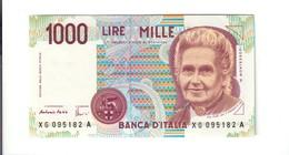 1000 LIRE MONTESSORI SERIE SOSTITUTIVA XG.......A 1998 RARA Q.FDS LOTTO 2609 - [ 2] 1946-… : République