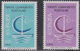 TURQUIA 1966 EUROPA CEPT - Europa-CEPT
