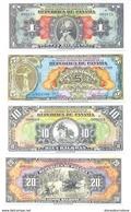 Panama 4 Note Set 1941 COPY - Panama