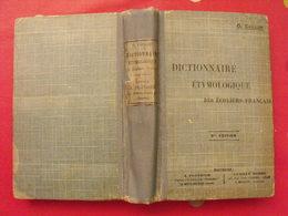 Dictionnaire étymologique Des écoliers Français. O. Caillon. Plothier-Robbe 1923 - Dictionnaires