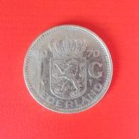 1 Gulden Münze Aus Den Niederlanden Von 1970 (sehr Schön) - [ 3] 1815-… : Kingdom Of The Netherlands