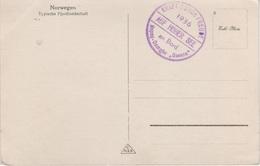 AK An Bord NS Schiffspost Stempel Kraft Durch Freude KDF Hapag MS Dampfer Oceana 1936 Norway Norvege Norge Norske Norsk - Norwegen