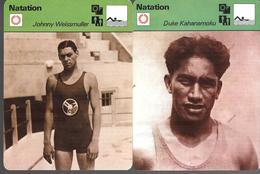 GF1033 - SPORTCASTER - JOHNNY WEISSMULLER - DUKE KAHANAMOKU - Natación