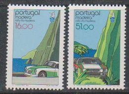 Madeira 1984 Rally Madeira 2v ** Mnh (43229A) - Madeira