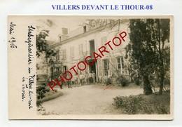 VILLERS DEVANT LE THOUR-Quartier General-CARTE PHOTO Allemande-GUERRE 14-18-1WK-France-08- - France