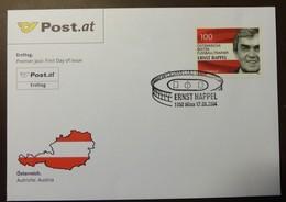 Brief Österreich   2004  Ernst Happel    #cover 4808 - 1945-.... 2. Republik