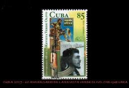 CUBA/KUBA 2019 60° ANIV. DE LA REVISTA VERDE OLIVO CHE GUEVARA - Cuba