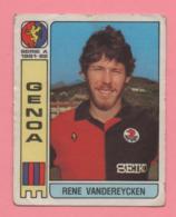 Figurina Panini  Calciatori 1981-82 - Genoa - Rene Vandereycken - Trading Cards