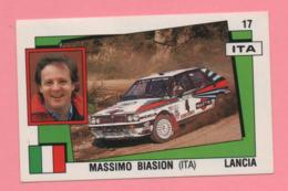 Figurina Panini Supersport - Massimo Biasion (Ita) Lancia - Trading Cards