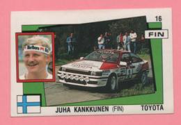 Figurina Panini Supersport - Juha Kankkunen - Toyota - Trading Cards