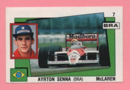 Figurina Panini Supersport - Ayrton Senna Mclaren - Trading Cards