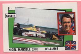 Figurina Panini Supersport - Nigel Mansell - Williams - Trading Cards