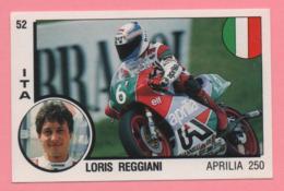 Figurina Panini Supersport - Loris Reggiani - Aprilia 250 - Trading Cards