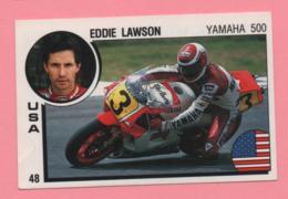 Figurina Panini Supersport - Eddie Lawson - Yamaha 500 - Trading Cards