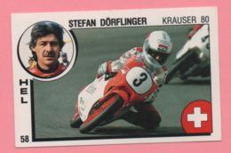 Figurina Panini Supersport - Stefan Dorflinger - Krauser 80 - Trading Cards