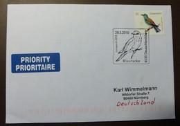 Brief Österreich   2010  Vogel Blauracke    #cover 4809 - 1945-.... 2. Republik