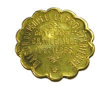 1 Franc - Charleville Mézières - Maison Du Peuple La Prolétarienne - 1939 - Sup - Contremarqué - - Monetary / Of Necessity