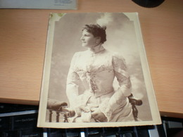 Old Cardboard  Budapest Koller Karoly Tanar Utodai 1899 Probably A Famous Person ???? - Photos
