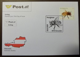 Brief Österreich   2009   Honigbiene #cover 4817 - 1945-.... 2. Republik