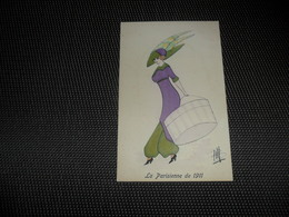 Illustrateur ( 1001 )  ????   Mode  Chapeau  La Parisienne De 1911 - Illustrateurs & Photographes