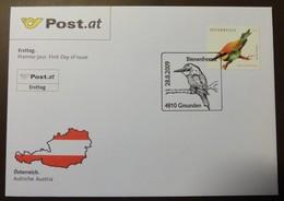Brief Österreich   2009   Bienenfresser  #cover 4818 - 1945-.... 2. Republik