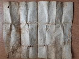 Bel Acte De Vente De 1544 En Auvergne - Manuscritos
