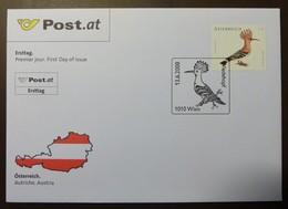 Brief Österreich   2008   Wiedehopf #cover 4821 - 1945-.... 2. Republik