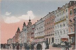 CPA AK Oostende Ostende Digue Grand Hotel Belle Vue A Brugge Brügge Blankenberge Heist Belgien Belgique Marine Feldpost - Oostende