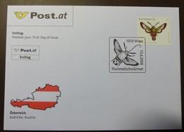 Brief Österreich   2008   Hummelschwärmer  #cover 4822 - 1945-.... 2. Republik