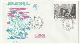 FDC - TAAF - PA N°59   (1979) - FDC