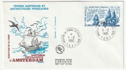 FDC - TAAF - PA N°58   (1980) - FDC