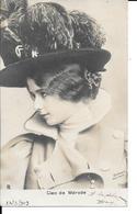 Cleo De Mérode - Ed: Dupont New-York - N° 7151 - Circulé: 24.03.1903 - Voir 2 Scans. - Artistes
