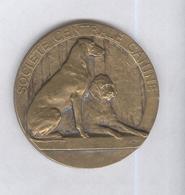 Médaille Société Centrale Canine - 1er Prix 1938 LOT - Exposition Intrenationale De Paris  - Diamètre 45 Mm - Professionnels / De Société